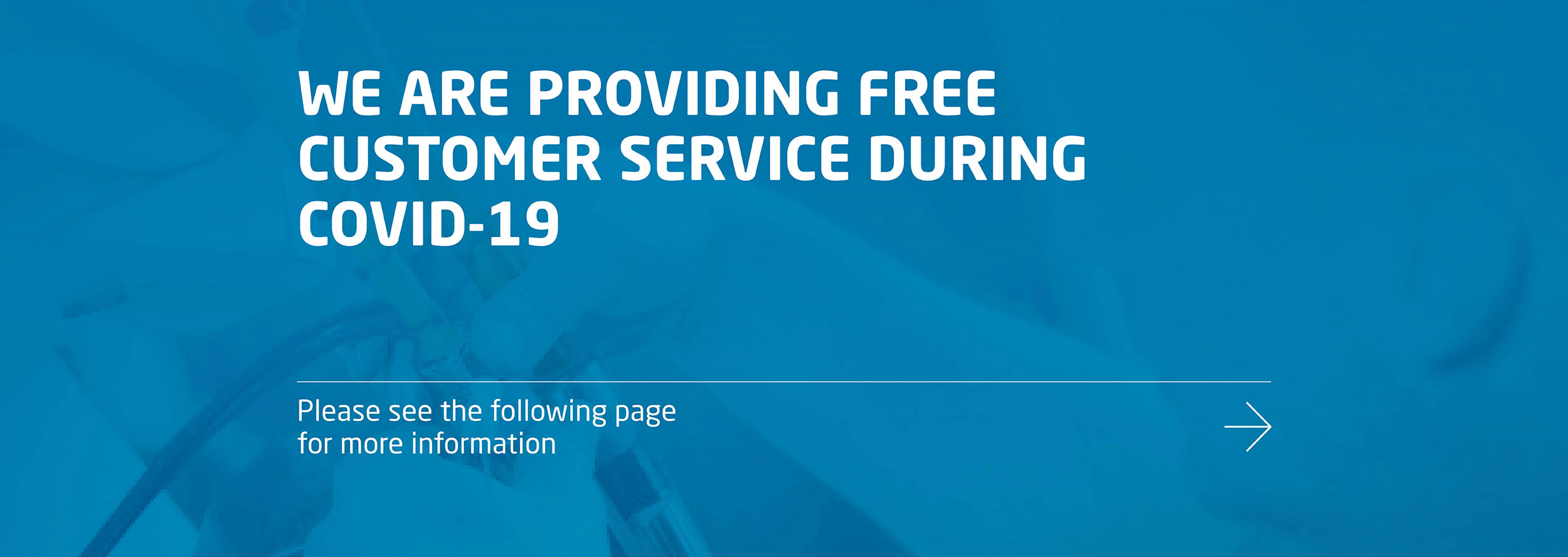 Free customer support during Covid-19
